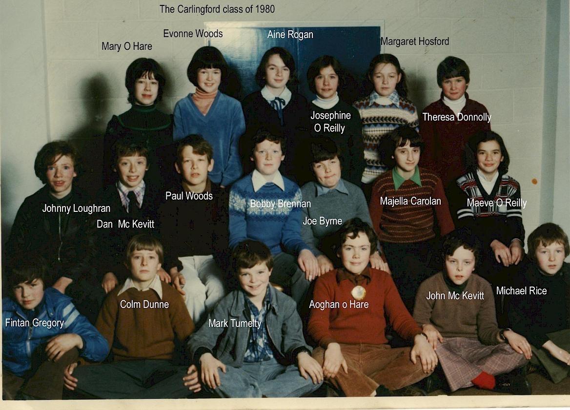 School The Class Of 1980 Boys